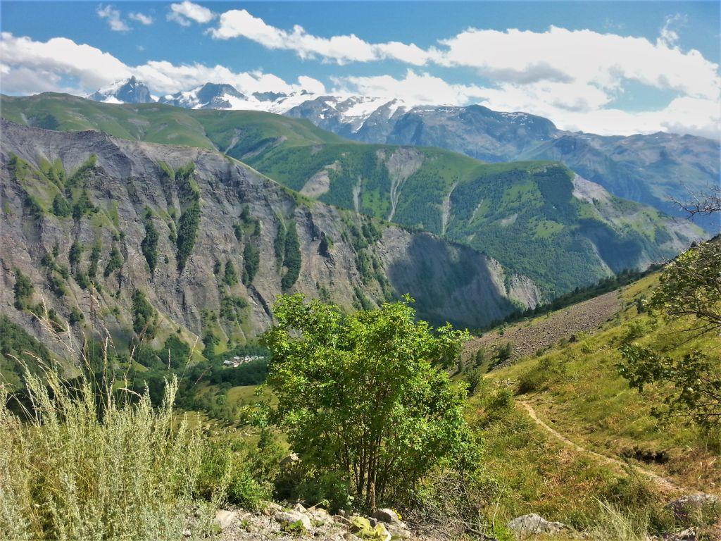 170723 22 Col Sarenne, Meije, Rateau, glacier de la Girose et du Mont de Lans